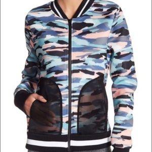 C&C California neoprene track jacket